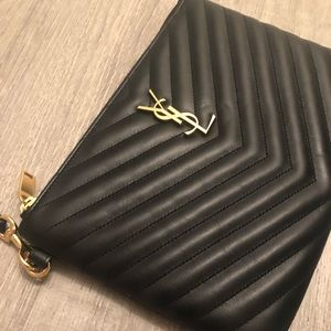 YSL Wristlet Worn Only Once!